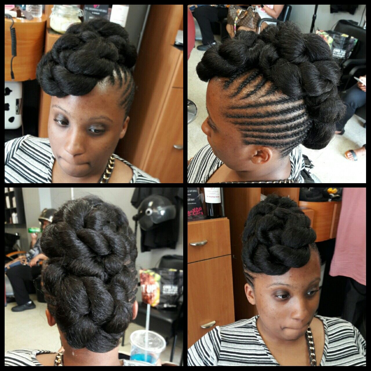 Pin by blackberry brown on faux updo pinterest updo
