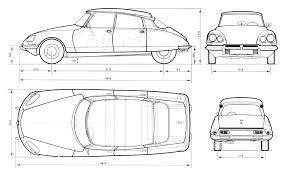 Afbeeldingsresultaat voor classic car blueprints for 3d