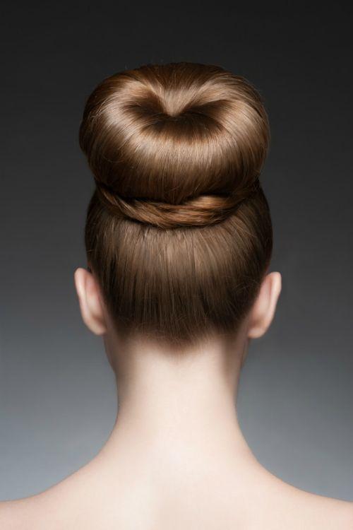 Sensational 1000 Images About Hairdos On Pinterest Elegant Bun High Bun Hairstyle Inspiration Daily Dogsangcom