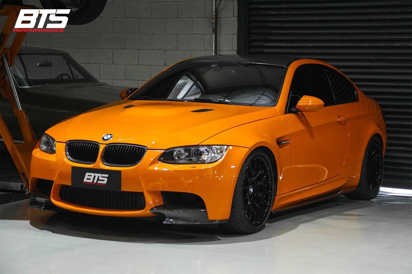 Wonderful BMW M3 E92 Fire Orange Equipado Com Supercharger VF, Elevando A Potência  Para 650 Hp