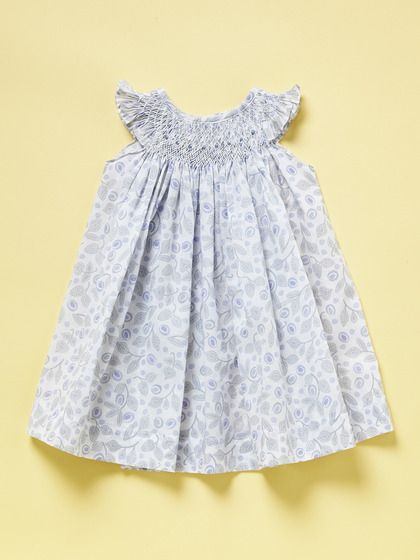 Thumb Hand-Smock Dress by Feather Baby at Gilt