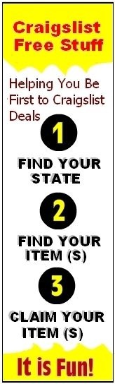 Find Craigslist Free Stuff in 3-Easy Steps - It is Fun ...