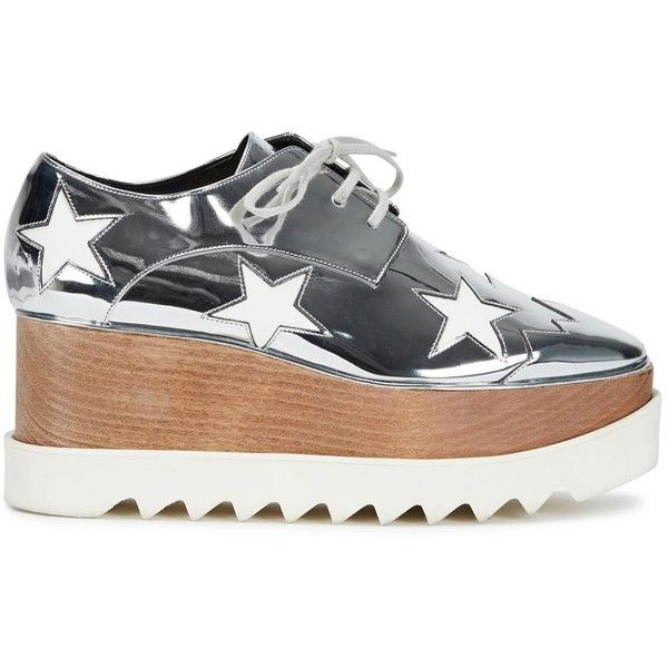 Stella Mccartney Elyse Derbies - Gris JpO4Caxq