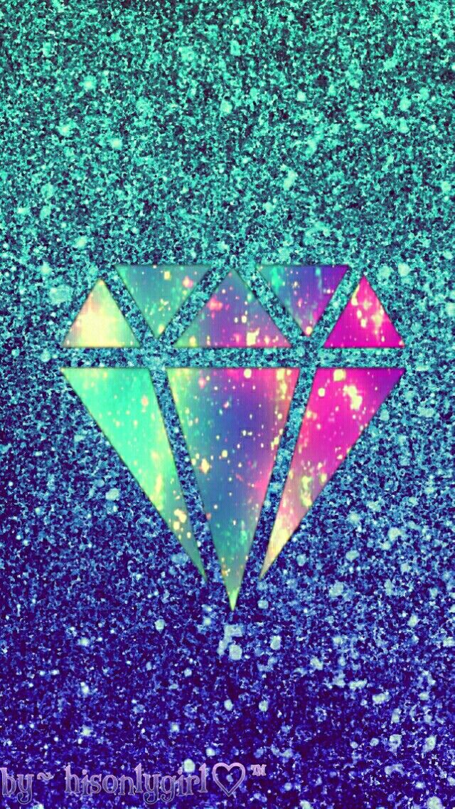 Diamond glitter wallpaper I created for the app CocoPPa.   Brenna ...