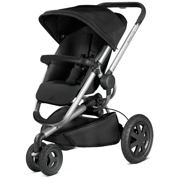 Fesselnd Quinny Buzz Xtra Black Pushchair £399 The Great Outdoors Is Calling! You  And Your