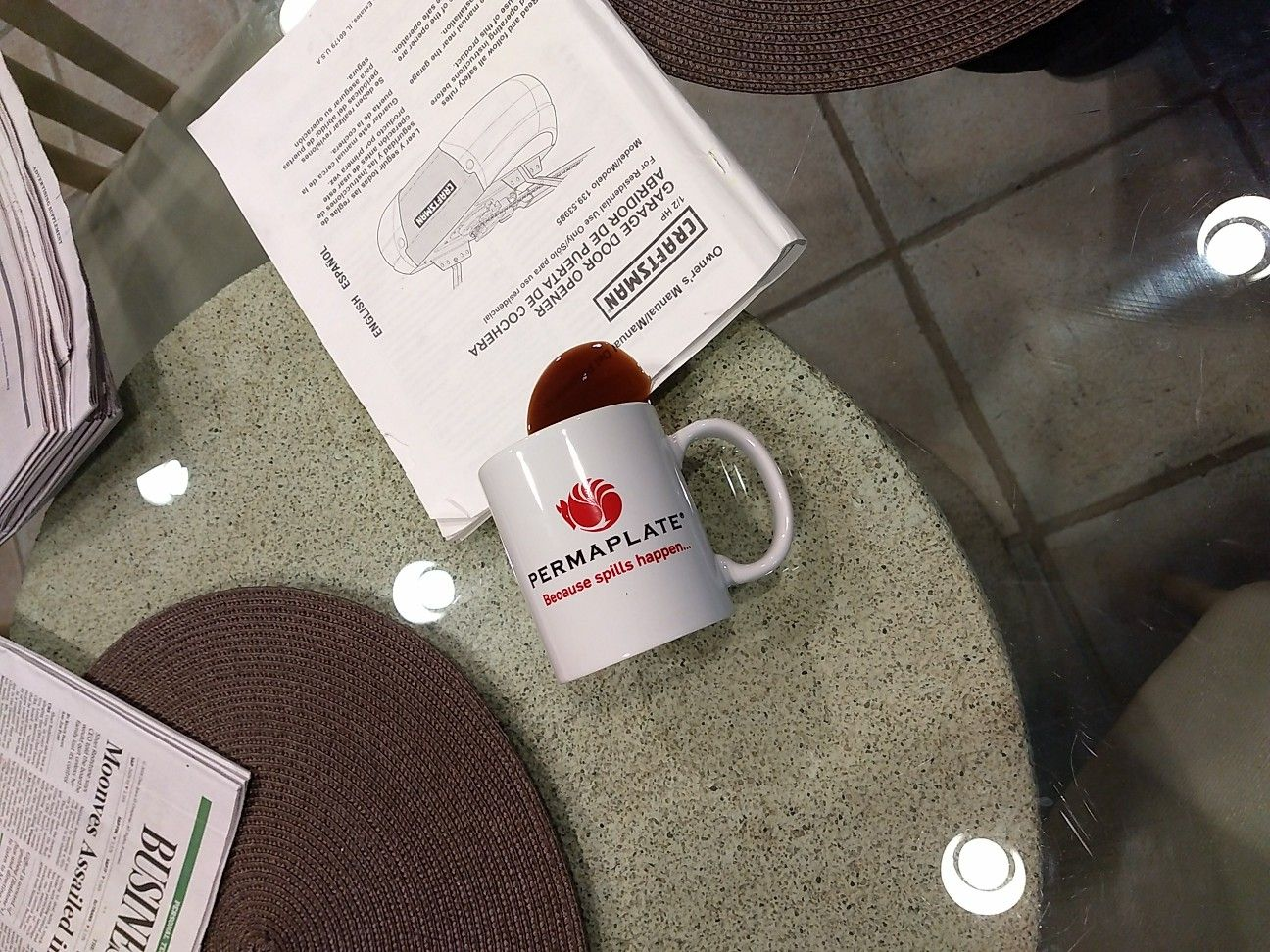 Awesome Coffee Shtick Whatsbrewinginthehousingmarketaskadambashein With Images Glassware Coffee Mugs