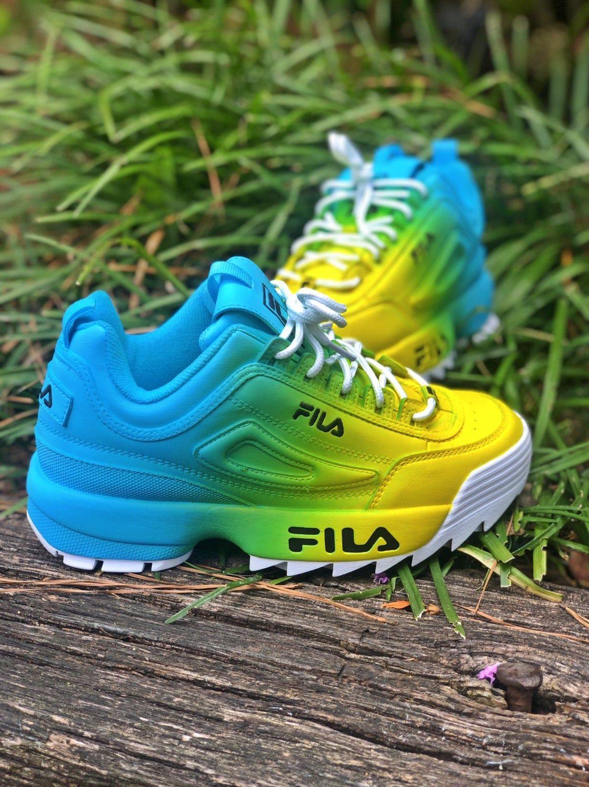 Custom Fila Shoes in 2020 | Nike air