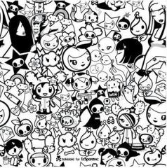 Tokidoki Cute Coloring Pages Coloring Pages Unicorn Coloring Pages