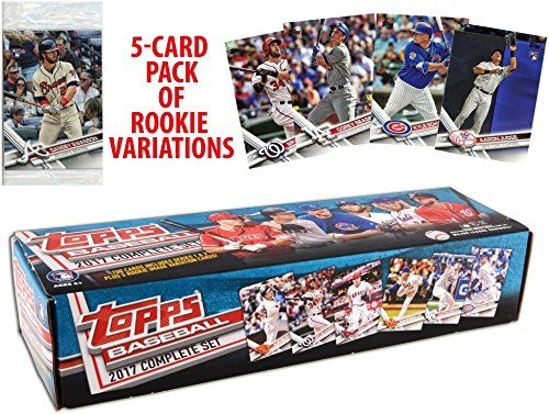 5298 2017 Topps Baseball Complete Retail Factory Set 705 Cards