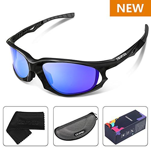 d552490cc4 KKUP2U Polarized Sports Sunglasses for Men and Women Cycling ...