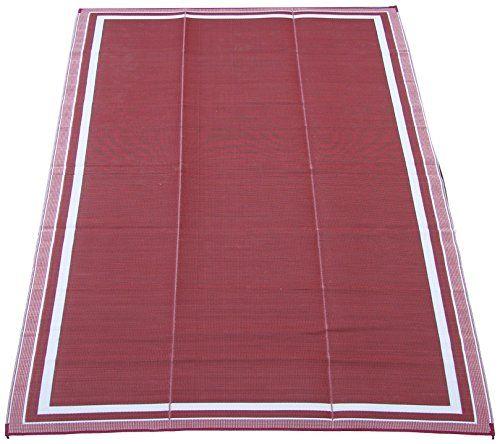 fireside patio mats cranberry sunrise 9 ft x 12 ft - Patio Mats