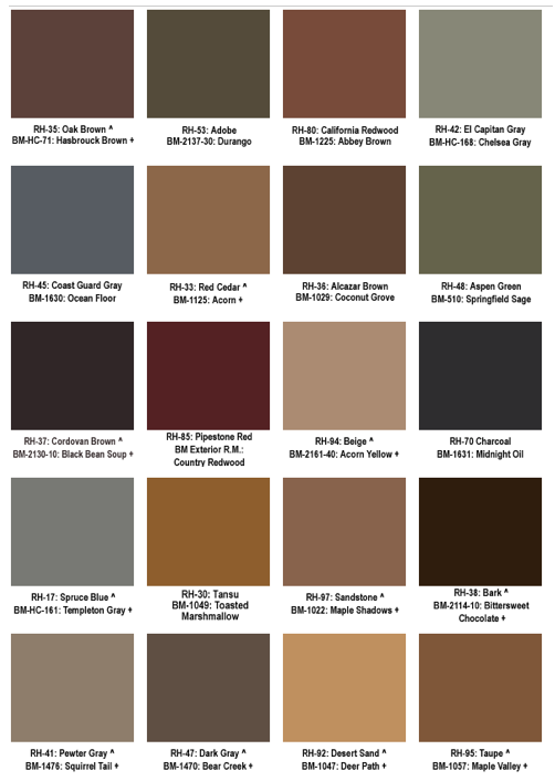 What Paint Goes With A Brown Roof Google Search Exterior Paint Colors For House Mid Century Exterior Brown Roofs