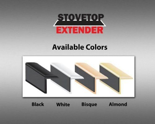 Stovetop Extender Se24al 24 Inch Stovetop Extender Almond By