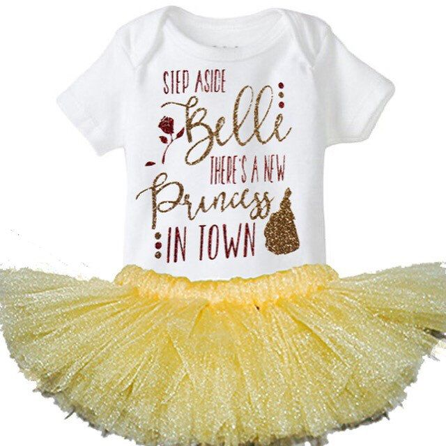 New Disney Beauty And The Beast Inspired Outfit Baby