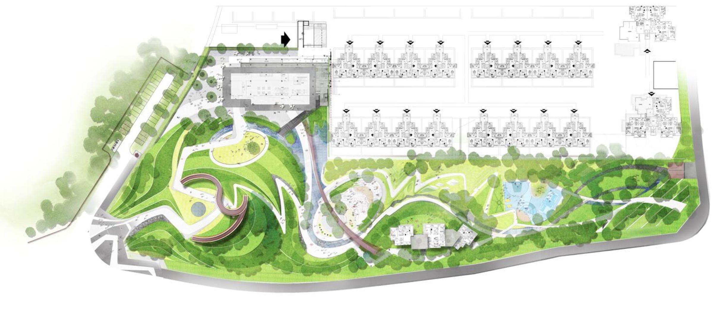 Dongyuan Never Land By Daoyuan道远景观 Landscape Plan Master Plan Landscape Design