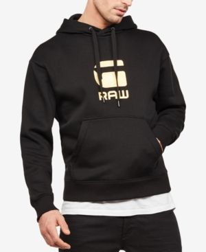 796c27f9161 G-Star Raw Men's Logo Hoodie - Black XL | Products | Hoodies, Man ...