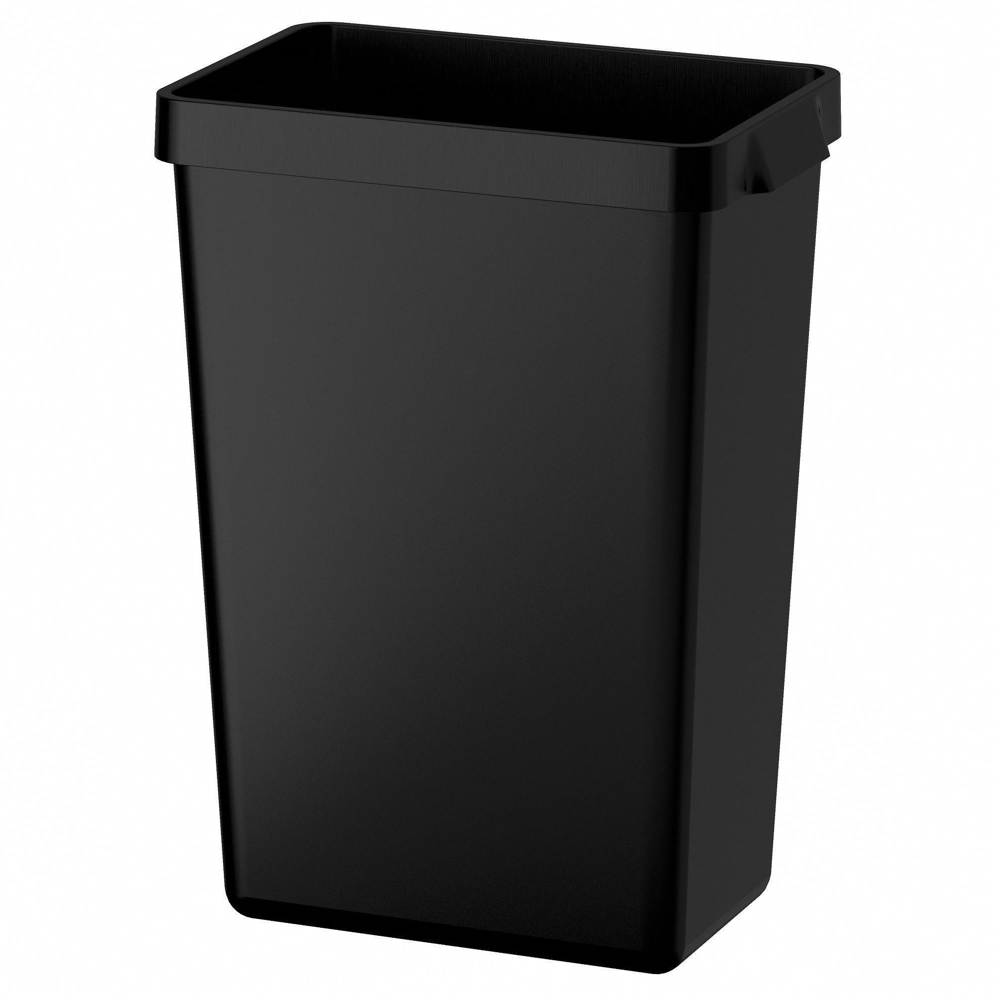 Ikea variera recycling bin black decorating and decor
