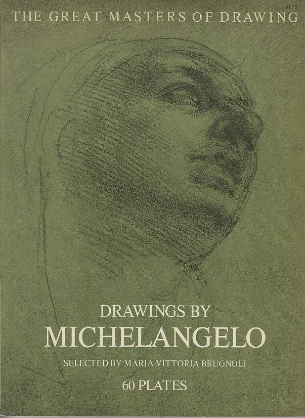 drawings by michelangelo 60 plates the great masters of drawing
