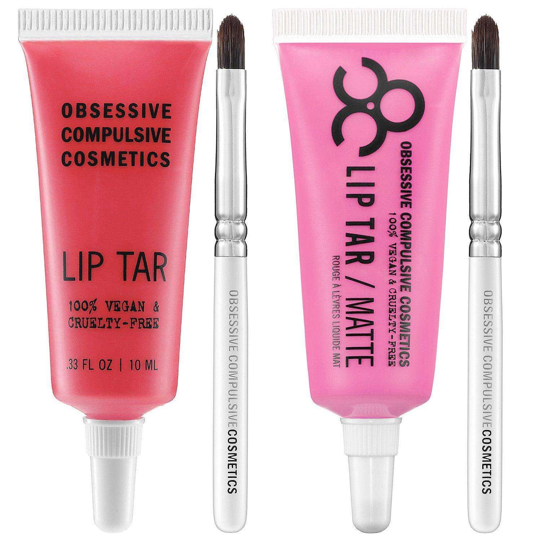 Obsessive Compulsive Cosmetics Lip Tar - 2 Piece Bundle