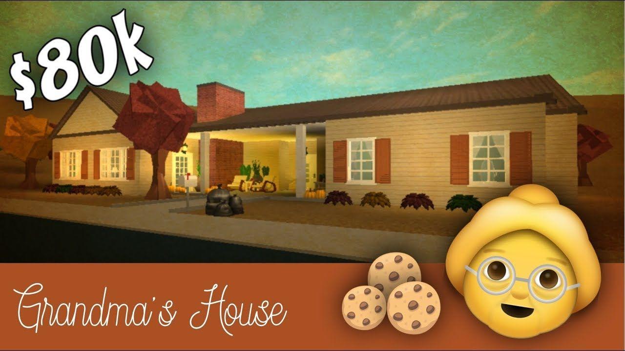 Roblox Bloxburg Grandma S House Speed Build Youtube