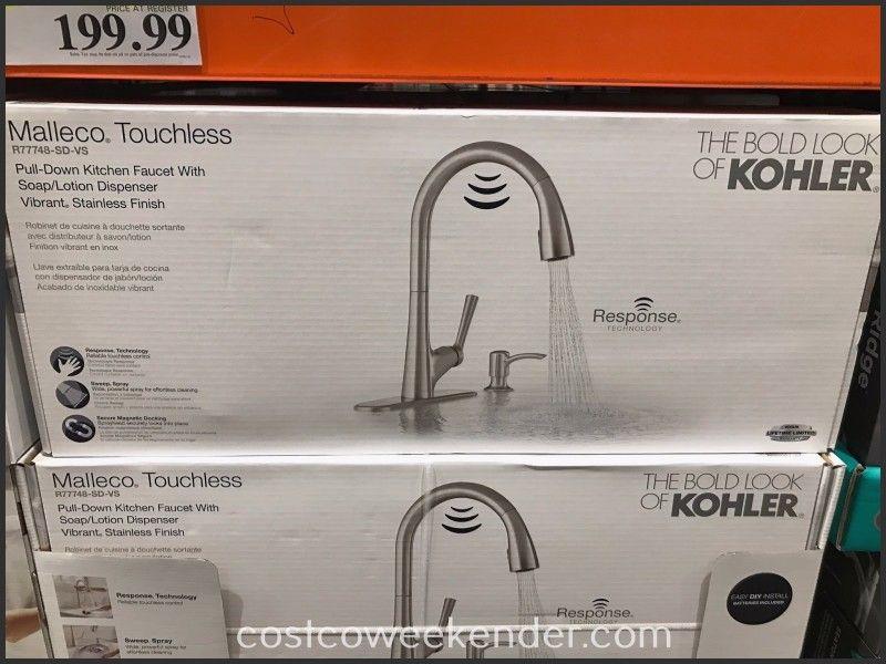 Lovely Kohler Malleco Touchless Pull Down Kitchen Faucet