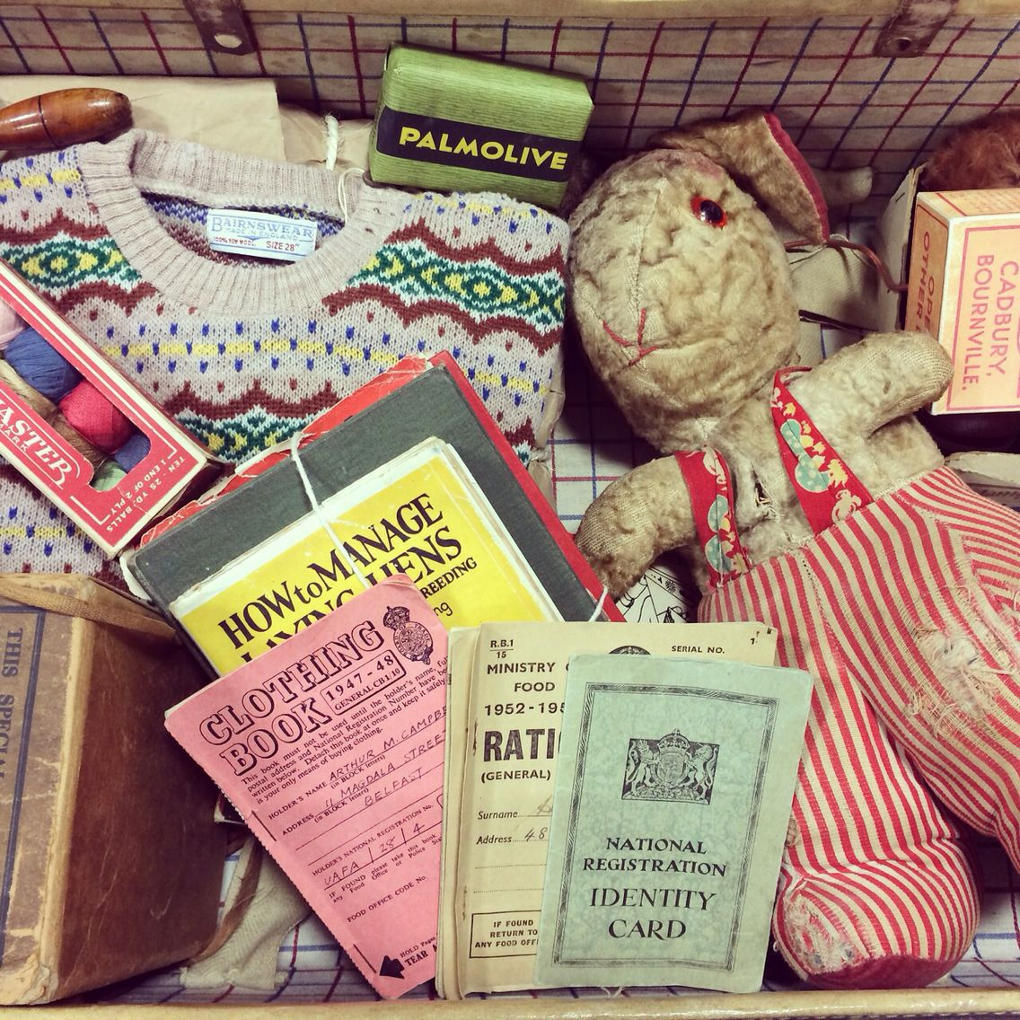An Evacuees Suitcase A Learning Box I Have Been Working
