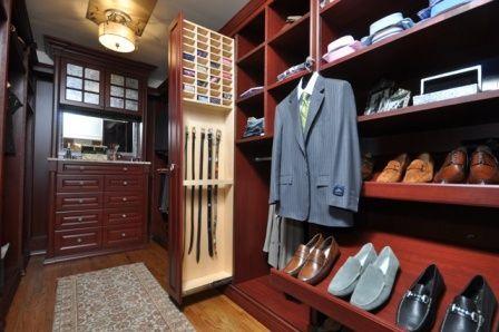 men's closet