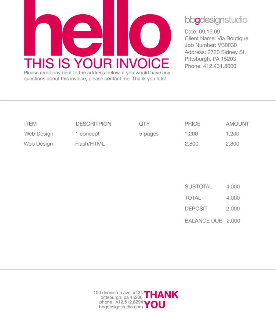 Contoh Desain Invoice Faktur Tagihan Invoice Template Designs - Invoice freelance template