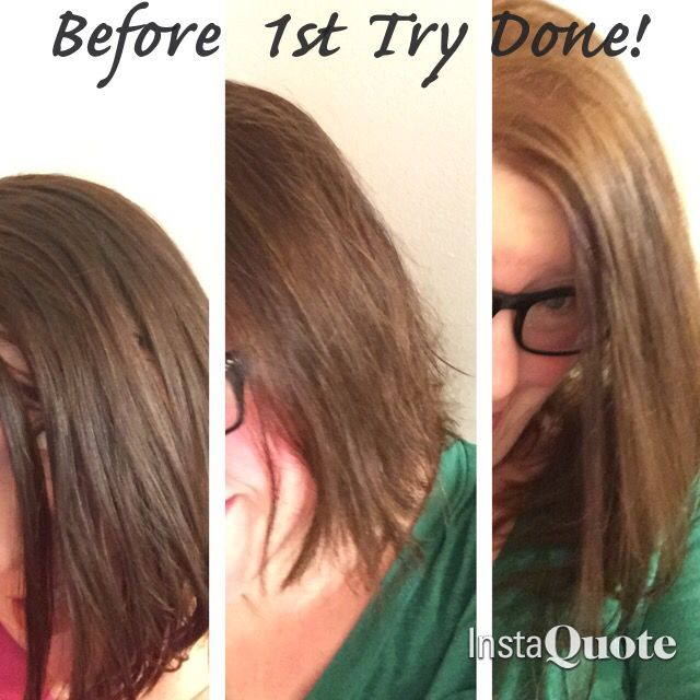 Easy Hair Lightening So I Had A Dreaded Hair Weekend First She Made It Orange Then She Made It W How To Lighten Hair Easy Hairstyles Vitamin C Hair Lightener