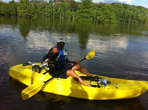 Lifetime manta tandem kayak with paddles and for Two seater fishing kayak