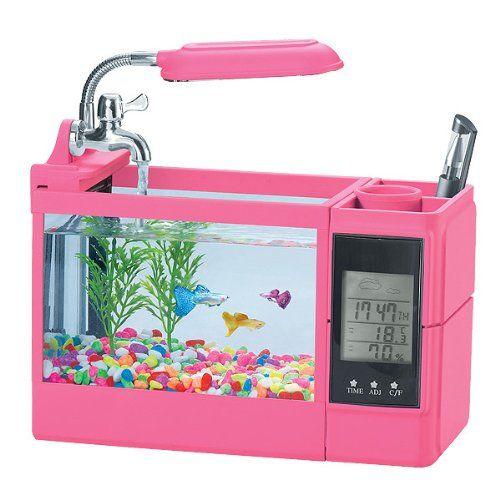 Delicieux Miniature Fake Aquarium   Itu0027s A Pencil Holder!