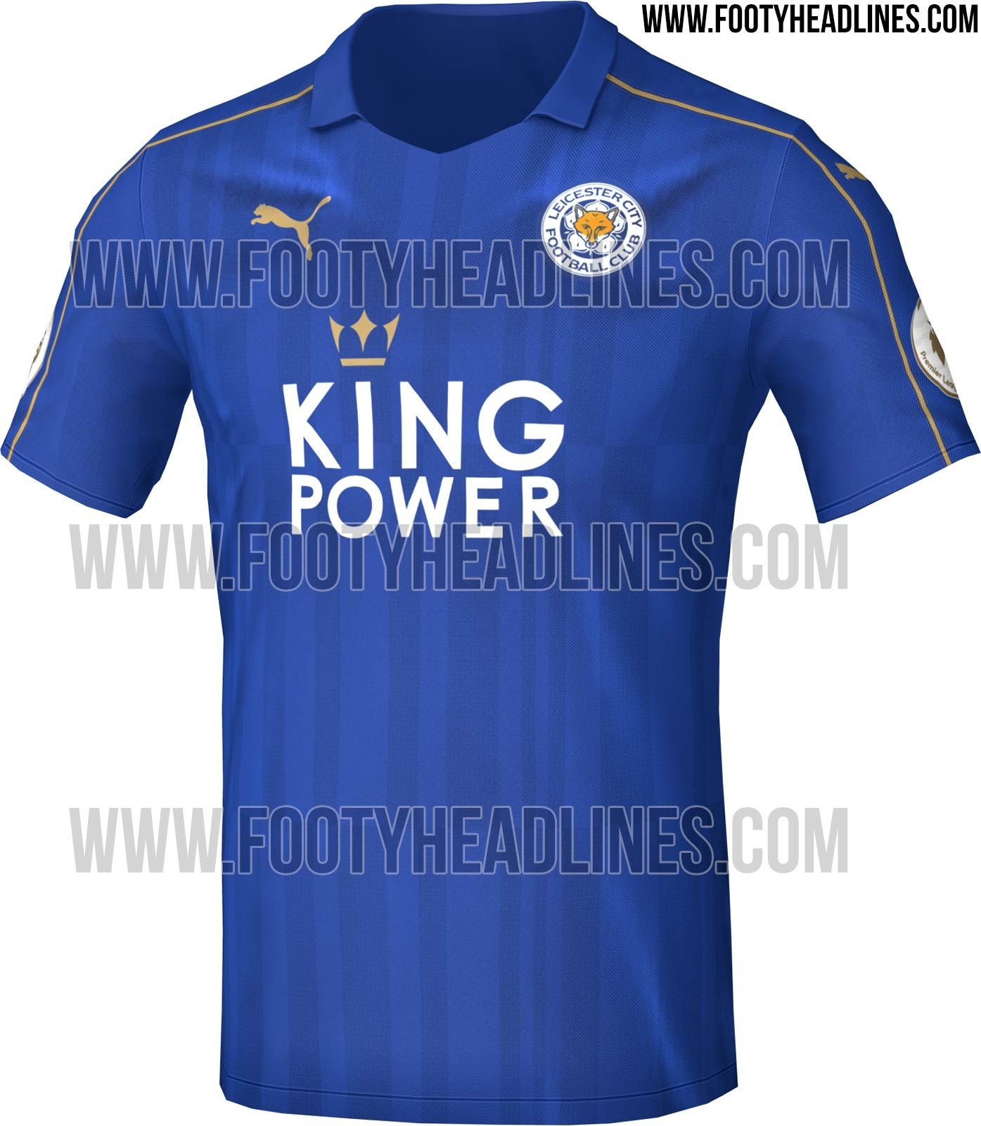 Leicester City 16 17 Home Kit Released Leicester City 20er Fussball
