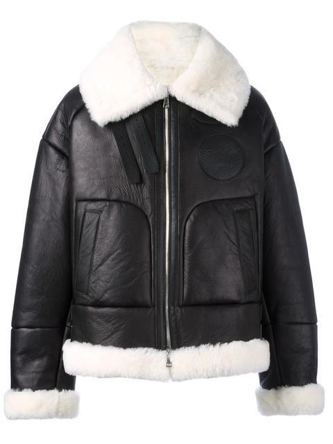 JUUN.J shearling bomber jacket. #juun.j #cloth #재킷