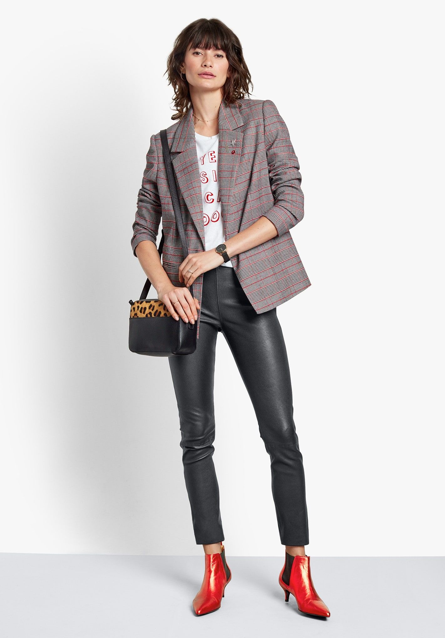 7ff8d65bad5 Buy Chrissie Check Blazer from Hush  A cool take on a classic style ...
