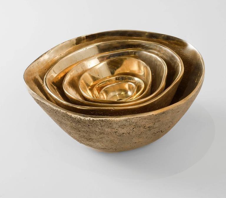 Rupi Sand Cast Bronze Bowl By Jaimal Odedra Sand Casting Bronze Cast Bronze