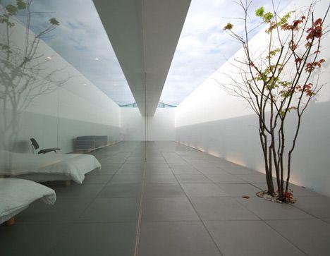 Maison minimaliste okinawa architecture japon for Architecture japonaise contemporaine