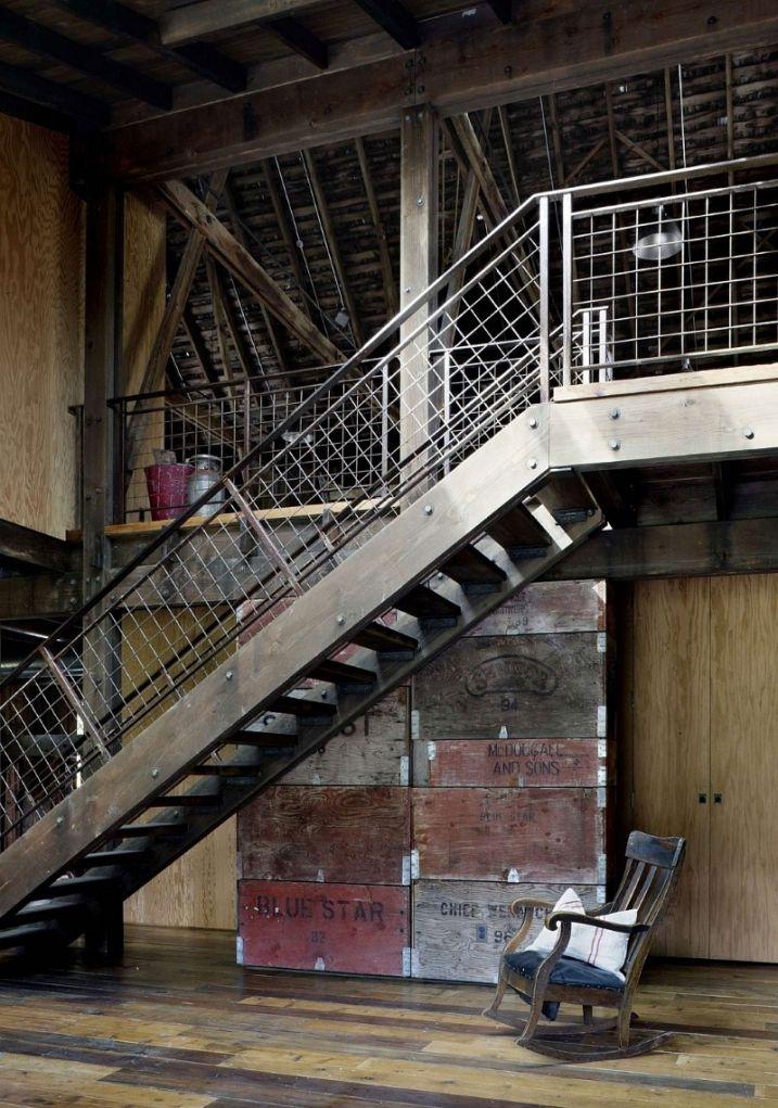 Renovation D Une Vieille Ferme Avec Un Style Industriel