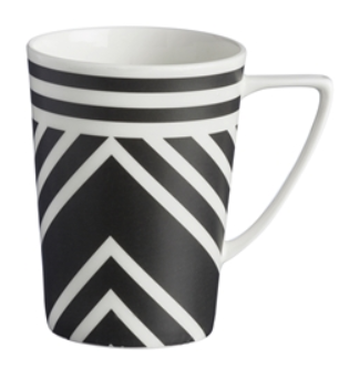 Good The Zig Zag Mug Is Part Of The Arthur Wood New Fashion Mugs Collection.  Inspired By Fashion Colors And Textile Trends, They Are A Striking Addition  To Any ...