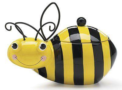 Bee Cookie Storage Jar