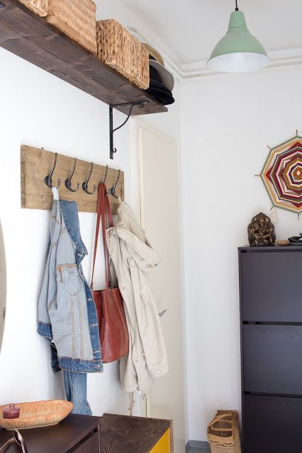 Diy Hakenleiste Fur Garderobe Bauen Home Decor Decor