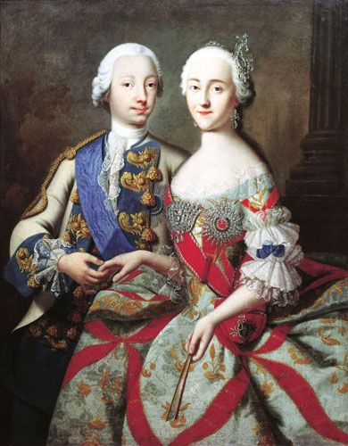 Peter And Catherine Catherine The Great Catherine Ii Peter The Great