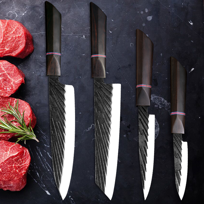 Haru (はると) Ebony Handle Knife set in 2020 Knife, Kitchen