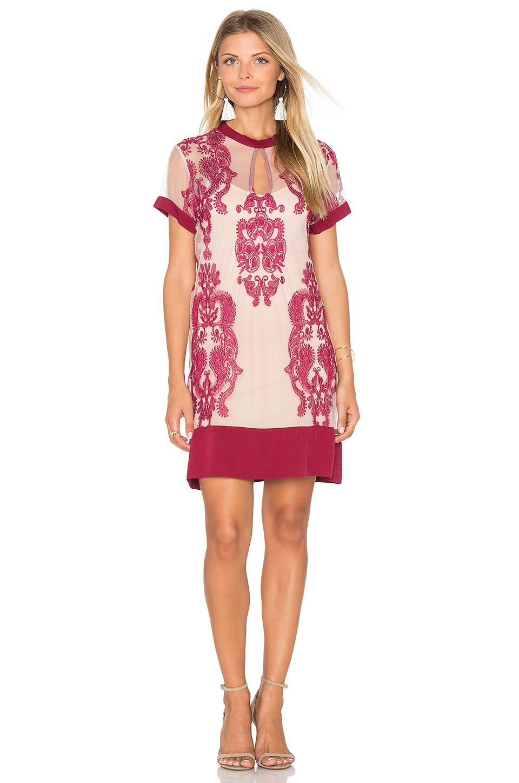 8493b5108b MINKPINK Sweetest Sound Dress in Wine & Blush | REVOLVE | My Style