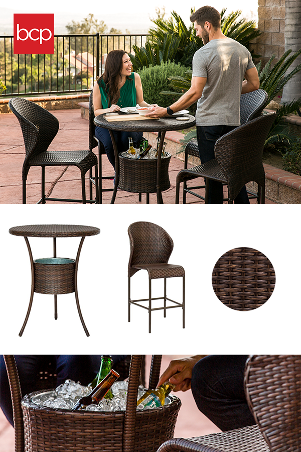 3 Wicker Sets for Any Occasion #resinpatiofurniture Create the backyard of your dreams with 3 styles of outdoor wicker patio furniture. Our buyers guide will help you find a wicker sofa, outdoor patio bar, wicker bistro set, and wicker sectional to perfectly meet your needs. All our resin patio furniture is synthetic & eco-friendly. #resinpatiofurniture 3 Wicker Sets for Any Occasion #resinpatiofurniture Create the backyard of your dreams with 3 styles of outdoor wicker patio furniture. Our buye #resinpatiofurniture