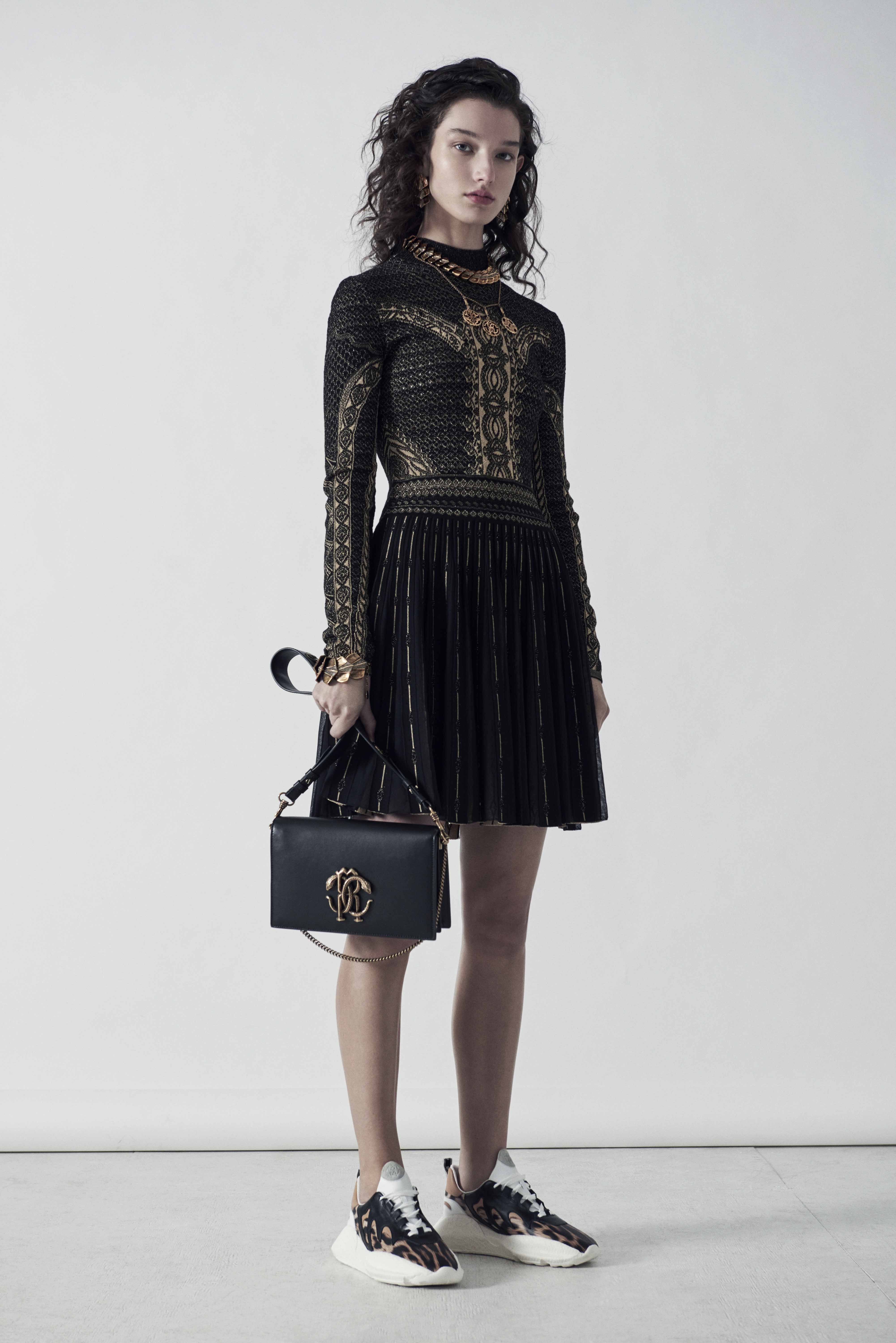 c92490efc4a8d The Roberto Cavalli Prefall 2019 collection is inspired by different  cultures and global artistic visual references