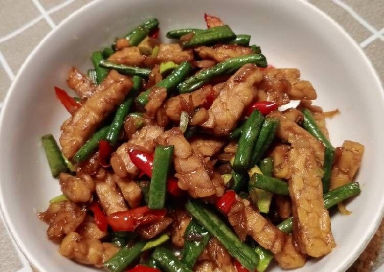 Resep Tumis Kacang Panjang Tempe Pete Oleh Whitepink Kitchen Resep Tumis Kacang Resep Masakan