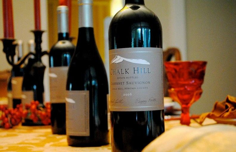 Chalk Hill For The Holidays Chalk Hill Wine Bottle Wine