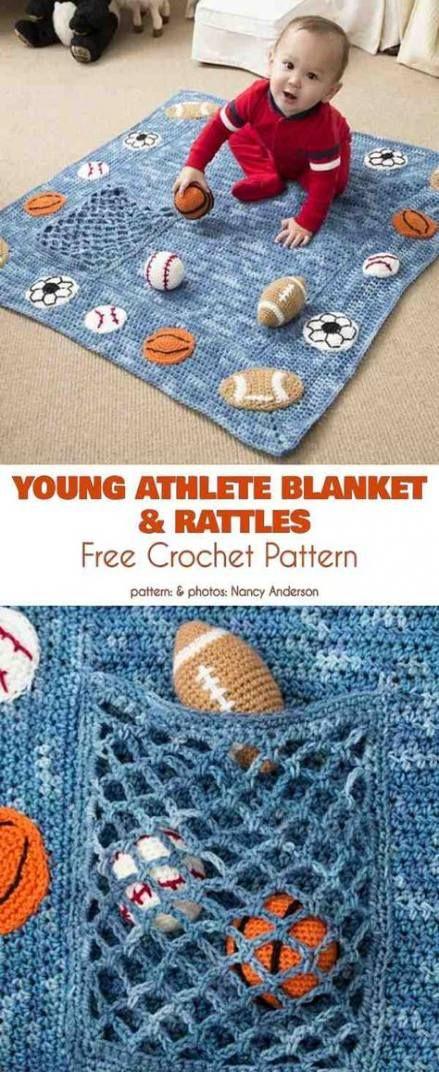 Photo of 38+ Ideas For Crochet Blanket Baby Boy Yarns