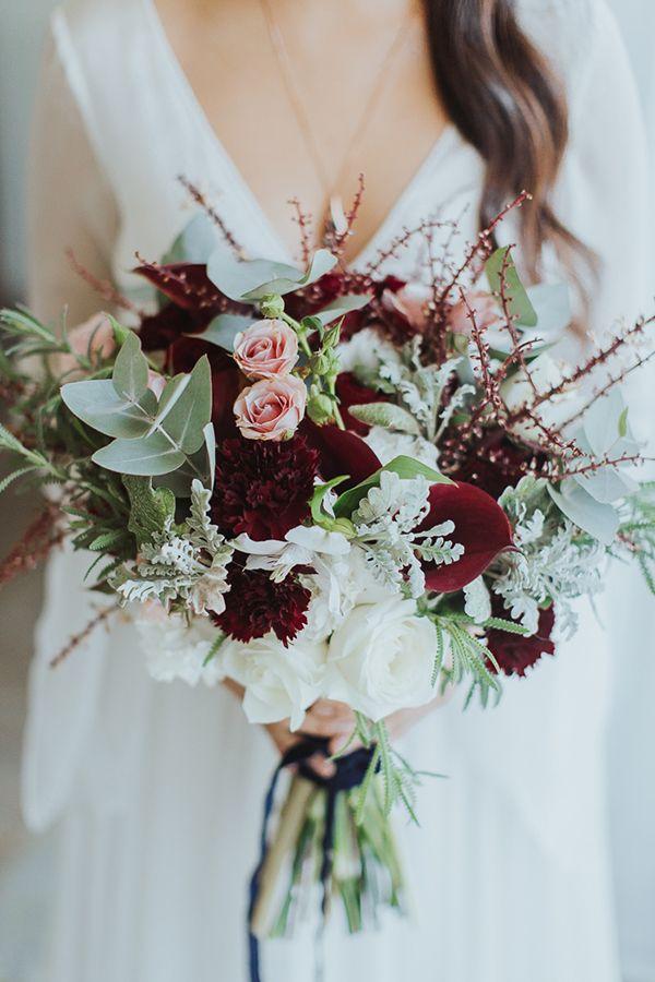 Matrimonio romantico in marsala bianco e rosa 3
