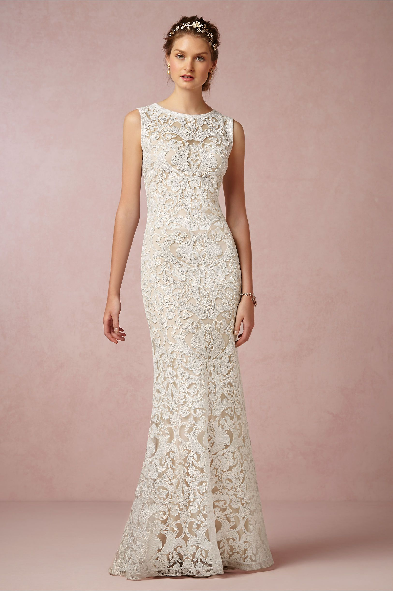 Ines Gown from BHLDN | Wedding Ideas | Pinterest | Novios, De novia ...